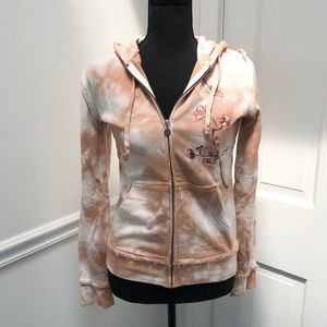 O'Neill Tan and White Marbled Sweatshirt